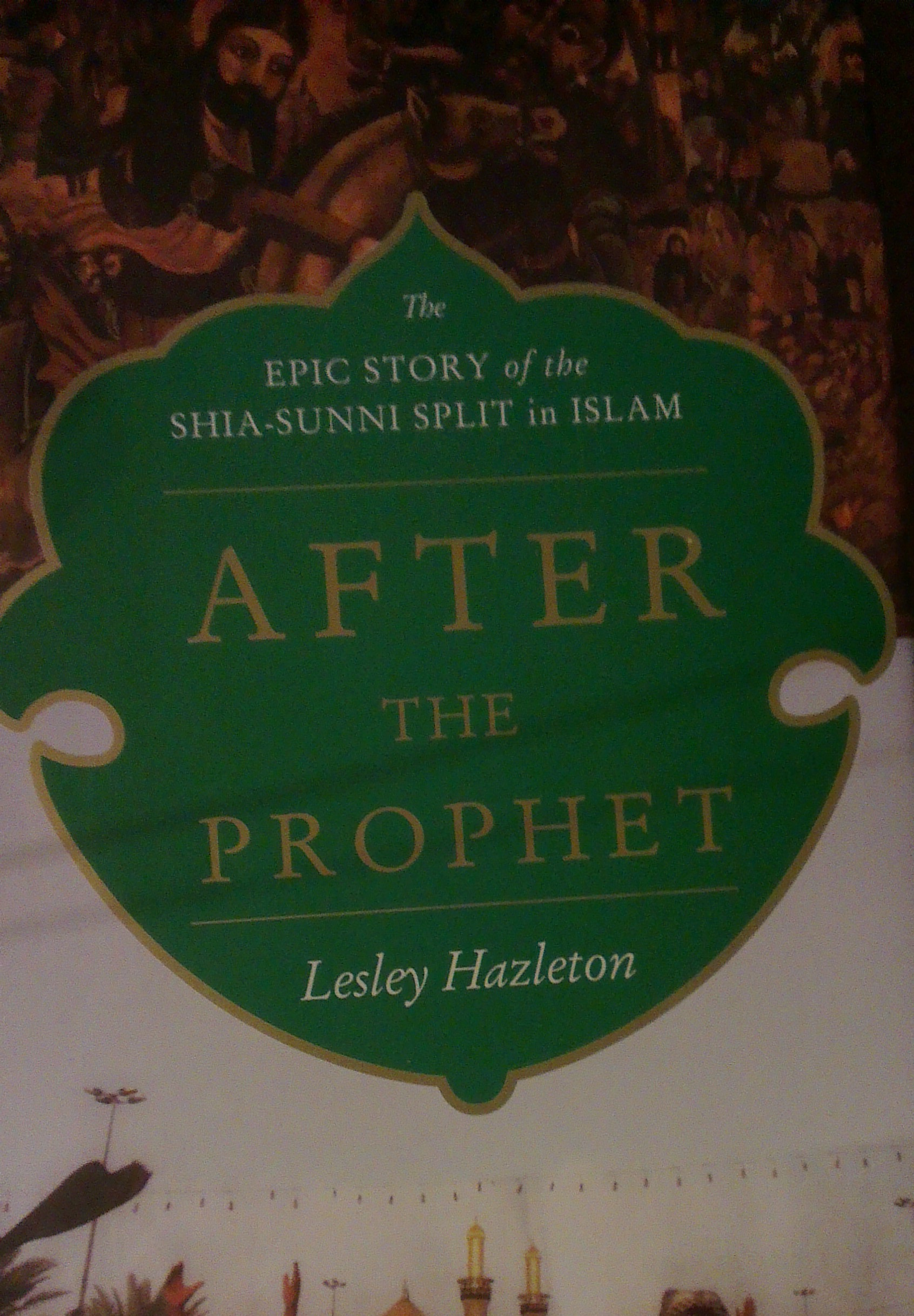 After The Prophet Book Cover by Lesley Hazleton