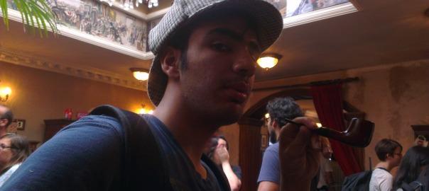 Haider Mushtaq as Sherlock Holmes