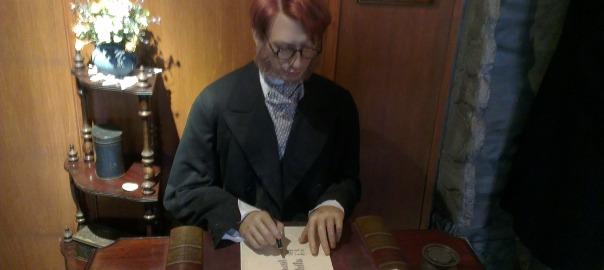 Dr Watson in 221B Baker Street