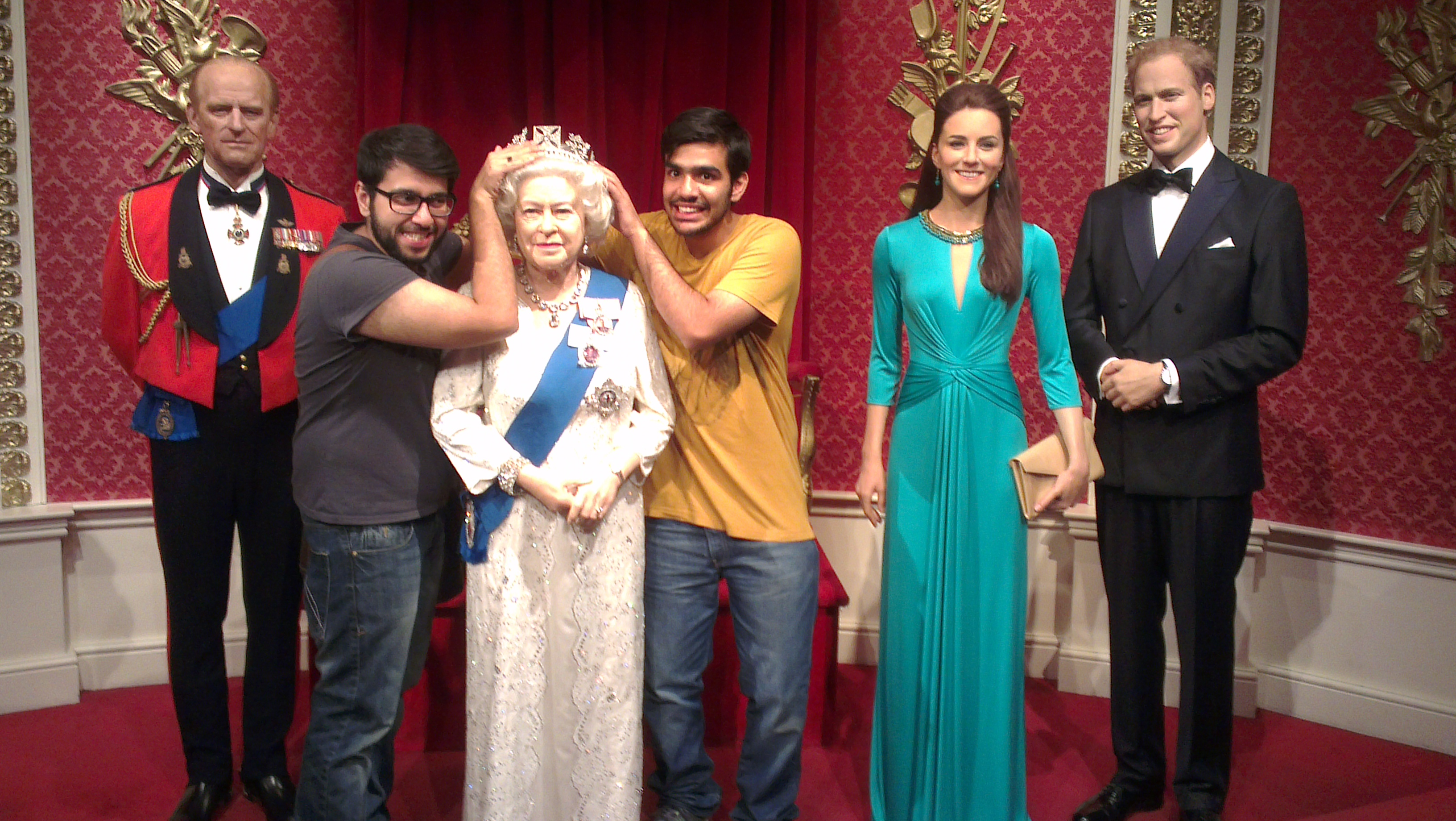 My visit to Madam Tussaud