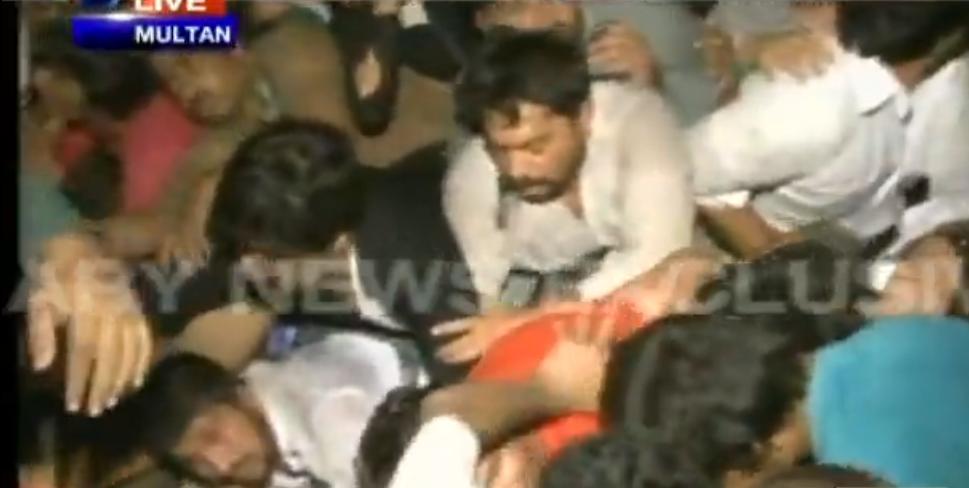 Eight dead in stampede after PTI Jalsa in Multan!